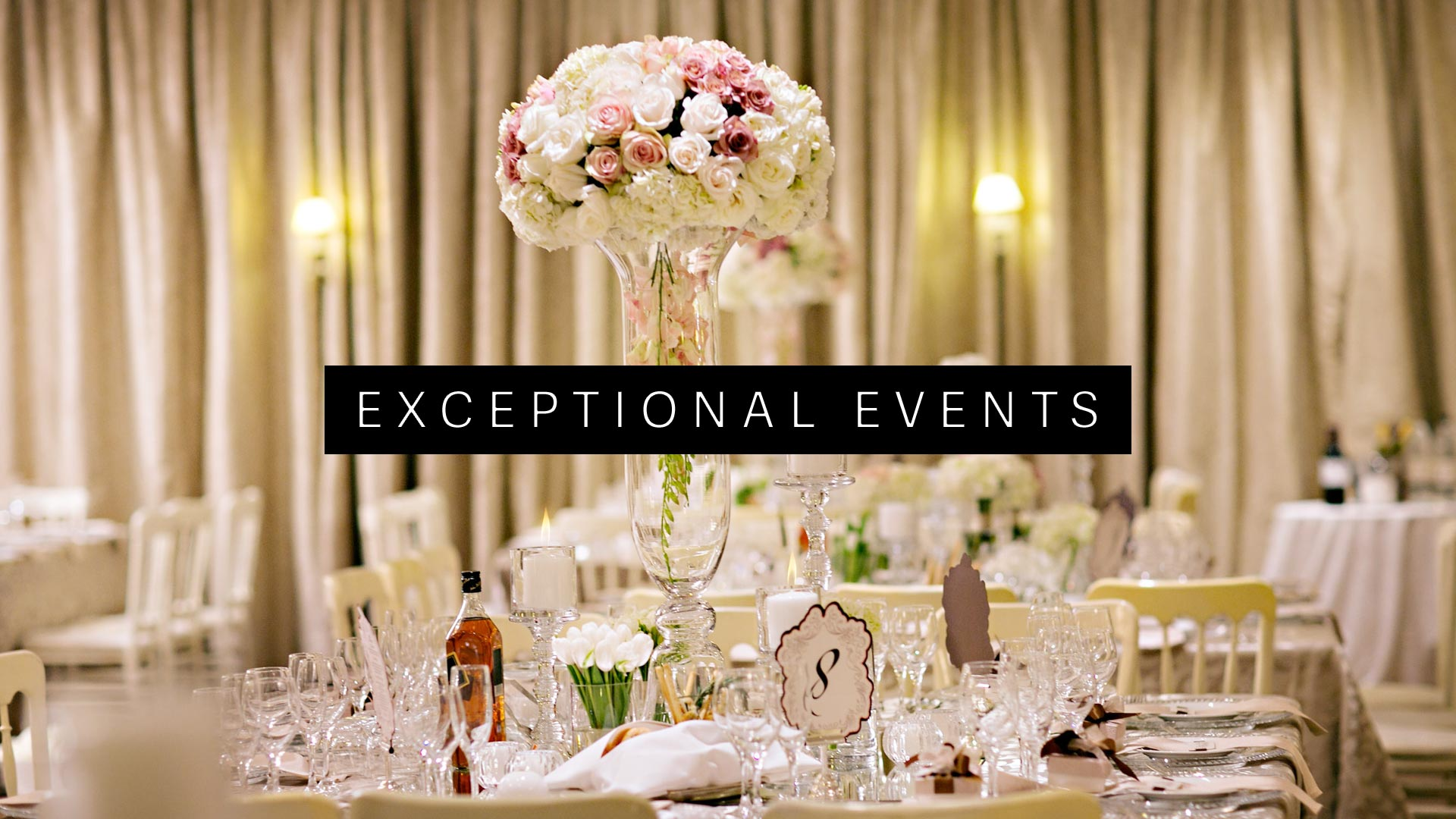 Banner Exeptional Events Silver Star Event Hiring