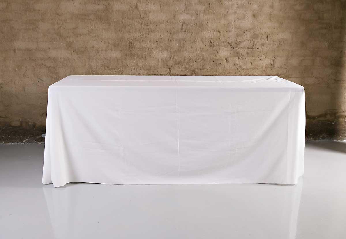 Table Cloth Rectangular Floor Length 2 2 3 5m R55 Silver